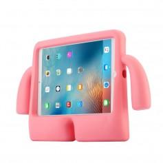 DrPhone KC Kinder Hoes Apple iPad Air 1/2/ Pro 9,7 & iPad 2017/2018 Schokbestendig met stevig EVA-schuim – Roze