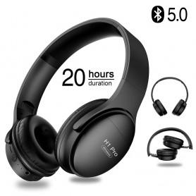 DrPhone H1 Pro - Bluetooth Hoofdtelefoon HiFi Stereo Draadloze Koptelefoon - Over-Ear Ruisonderdrukking Met Mic - Micro SD Kaart