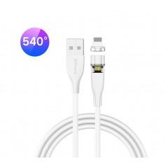 DrPhone OMNIA 540° - Lightning Magnetische Oplader 5V 3A kabel – Premium Geschikt voor o.a iPhone / iPod / Airpods / iPad