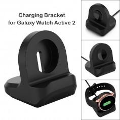 DrPhone DOCKX - Samsung Galaxy Watch Active 2 40/44 MM Dock Standaard – Oplaad houder (kabel niet inbegrepen) - Zwart