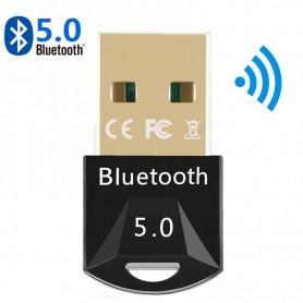 DrPhone B8 - Bluetooth 5.0 Dongle - Windows Adapter Desktop PC / Laptop BT 5.0 + EDR - Dual Modus - 2 Apparaten - 20M