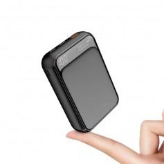 DrPhone PW4 Mini Power Bank 10000mAh – 18W- Qualcom 3.0 - Type C PD ( Power Delivery) Opladen met LED Display Scherm