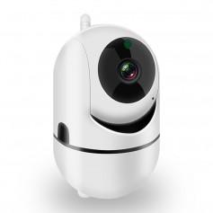 DrPhone CCS1 - Intelligente Camera met PTZ Functie – Wifi Camera – Security Camera – Dome Camera – Bewegingsdetectie - Wit