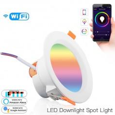 DrPhone LZ04 - Smart LED Licht - 7W RGB - Amazon Alexa - Google Home - Wifi – Light Bulb – Verschillende Kleuren