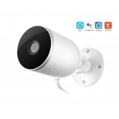 DrPhone CC1 Smart Life / TUYA – Google Home / Alexa - Wifi IP Camera voor Buiten 1080P 2MP – Audio + Nachtzicht