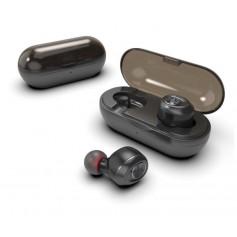 DrPhone Capsule Pro - Draadloze Oordoppen - 50 uur - Auto-Connect - Hi-Fi - Bluetooth 5.0 - Geschikt voor Bellen - Zwart