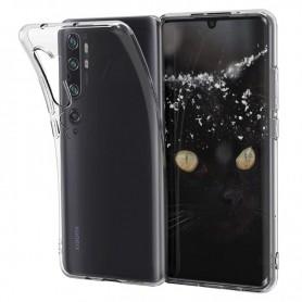 DrPhone Xiaomi MI NOTE 10/10 PRO TPU Hoesje - Ultra Dun Premium Soft-Gel Case - Transparant