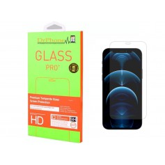 DrPhone iPhone 12 MINI 5.4nch Glas - Glazen Screen protector - Tempered Glass 2.5D 9H (0.26mm)