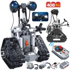 DrPhone ZLX Tech - Intelligente RC Robot Speelgoed met Bediening - 408 Onderdelen - Elektrische Bouwspeelgoed