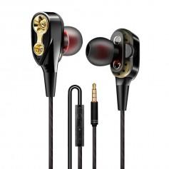 DrPhone HiFi2 Pro – USB C Oortjes - Dual Dynamische Drivers - In-Ear Oordopjes - Hifi