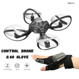 DrPhone VOLCANOX - 2.4G Handschoen Controle Interactieve Mini RC DroneRC Quadcopter voor Beginners en Gevorderden RTF