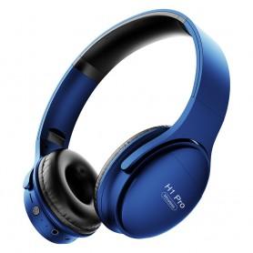 DrPhone H1 Pro - Bluetooth Hoofdtelefoon Hifi Stereo Draadloze Koptelefoon Gaming Headsets Over - Blauw
