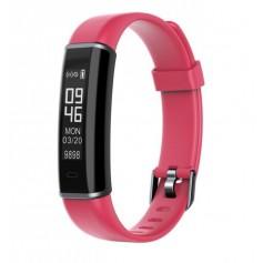 DrPhone Kidstime4 Fitness Activity Tracker – Stappenteller- Calorieteller/ IP67 met slaapmonitor - Rood