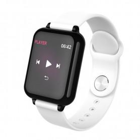 DrPhone - KidzOne Pro - Smartwatch voor Kinderen - Stappenteller - Hartslagmeter Nederlandstalige App - Wit