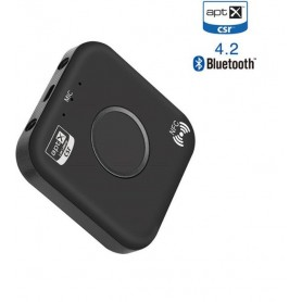 DrPhone Skylink VX - AptX Bluetooth-ontvanger 4.2 & Bluetooth-audioadapter + NFC -2x Aux 3.5mm