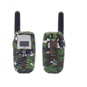 WT2 - 22 kanaals Walkie Talkie – Camouflage groen