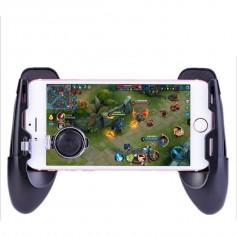 DrPhone HG04 - Mobiele Gamepad – Verstelbaar - 3 in 1 – Comfortabele Grip – Universeel – Zwart