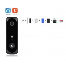 DrPhone LM1-E Smart Video Deurbelcamera – 1080P – HD – Nachtzicht Camera – Wifi video deurbel – Draadloze IP deurbel -