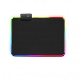 DrPhone QWR Muismat – Muismat – RGB Verlichting – Gaming – Mousepad – Extra groot -