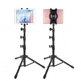 DrPhone VTS01 – Tablet Statief – 7-10 INCH – Hoogte Verstelbaar – iPad - Samsung – Lenovo – Zwart