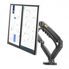 DrPhone NB Wallmount Series K2 – Muurbeugel – Full Motion Monitor – Gasveerarm – Dual Led LCD Monitor -