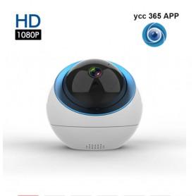 DrPhone HSIC 01 – Beveiliging IP Camera - Two Way Audio - Draadloos - Infrarood - Night Vision – 1080P – WiFi – App -Wit