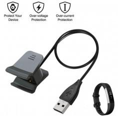 DrPhone - Alta HR - USB Oplaadkabel Adapter voor Fitbit Alta HR - met bescherming