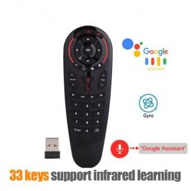 DrPhone MX6 Air Remote Mouse - Afstandsbediening 2.4G Draadloos - Spraakbesturing - 6-assige gyroscoop & IR Learning