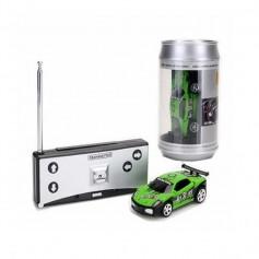 DrPhone TinyCars - Sport R/C Racer Radio Besturing - RC Micro Racing Bestuurbare Auto Inclusief Pionnen - Yellow Thunder