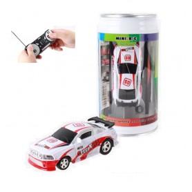 DrPhone TinyCars - Sport R/C Racer Radio Besturing - RC Micro Racing Bestuurbare Auto Inclusief Pionnen - Red Hurricane