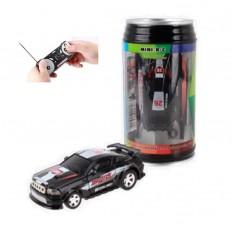 DrPhone TinyCars - Sport R/C Racer Radio Besturing - RC Micro Racing Bestuurbare Auto Inclusief Pionnen - Black Lightning
