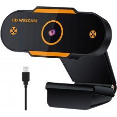 DrPhone CW6 - 1080P Webcam 1920x1080p met Microfoon & Autofocus – 30FPS - voor o.a Zoom Meetings/ Videogesprekken/Onderwijs etc