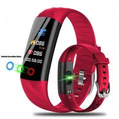 Drphone S5 - Smart Activity Tracker Met Led Ring - Hartslagmeter - Waterproof IP68 - Zwart