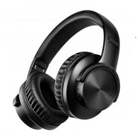 DrPhone WHB8 – Wireless Koptelefoon – Extra Bass – Bluetooth 5.0 – Wired – 40H Speeltijd - Over Ear – Zwart