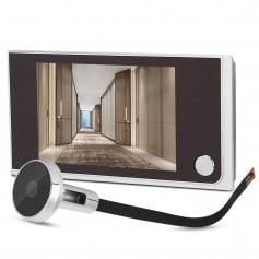 DrPhone Visual Series 2 - Visual Door Viewer – HD – Deur Camera – 120 Graden Camera – 3.5 Inch LCD Scherm– Zilver