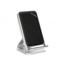 DrPhone SC901- Fast Draadloze Standhouder Dock - Voor iPhone 8 Plus X /XR /XS MAX -Samsung - 10 W Draadloze Oplader – Zwart.