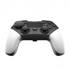 DrPhone JOY6- PC PS4/PS5 Controller met Trilfunctie – PC PS4 Switch Joystick - Draadloos – Wit Zwart
