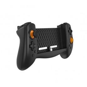 DrPhone TNS – Controller Nintendo Switch – 6 Axis Gyro– 3 opties Joystick Knop – Dubbelen tril Functie – PD Fast Charge- Zwart