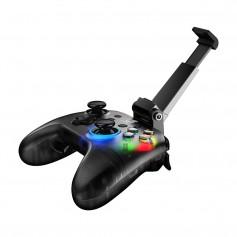 DrPhone Gamesir T4 PRO – Draadloze Game Controller – Android/IOS/SWITCH//WINDOWS - 600MAH – Vibratie in Controller – LED -Zwart