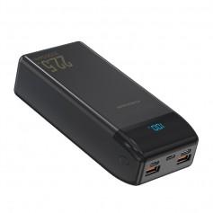 DrPhone PW4 Powerbank 30000mah - 22.5W- Draagbare Oplader - USB-C PD 18W met Digitale LCD-scherm – 2x Qualcom 3.0 - Zwart