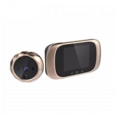 DrPhone Visual Series – Visual Door Viewer – HD – Deur Camera – 90 Graden Camera – Night Vision – Goud
