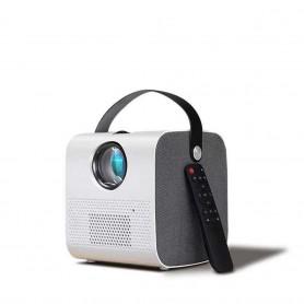 DrPhone Mini HCP07 - Projector, 1280*720P - 2800 Lumen, Led Projector - Full HD 1080P - 3D Video Beamer Home Cinema – Wit