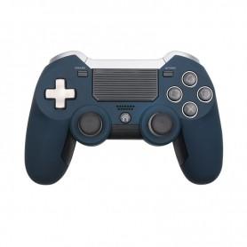 DrPhone DSB01 Pro – Draadloze Playstation 4 Controller – Ergonomisch – Trilfunctie - Blauw