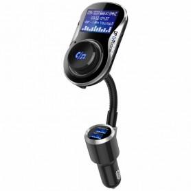 DrPhone BC14 Autolader – ondersteunt Hands-free – Quick charge – Dual USB – AUX in – 1.4' scherm