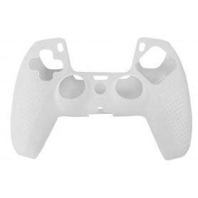 DrPhone PSX - Playstation 5 – Controller Case – Beschermhoes voor PS5 Joystick - Extra Grip - Transparant