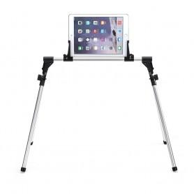 DrPhone TVT1 Vloerstandaard Verstelbare Smartphone/Tablethouder - 1.2 tot 12,2 inch (NIET in schermgrootte) 2.5 - 31 cm omtrek