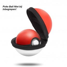 DrPhone Draagbare Beschermende EVA-Case – Geschikt voor Nintendo Switch Poke Ball Plus Controller - Reisopbergtas – Rood/Wit