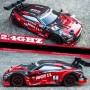 DrPhone RCZ- RC Auto - 1:18 - 30Km/h Race Auto - Driften - Bestuurbare Auto met Accu - 2.4ghz Hoge Snelheid - Zwart