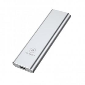 LUXWALLET DM HSB2 M.2 NVME SSD naar USB 3.1 Type-C externe harde schijfbehuizing 2230/2242/2260/2280
