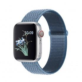 DrPhone AWB - Apple Watch Bandje - 42mmDrPhone A - 44mm - Blauw